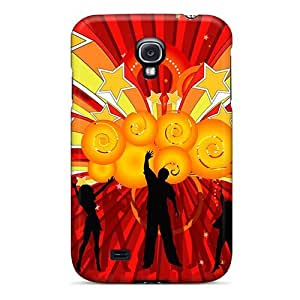 New Style DaMMeke Dance School Premium Tpu Cover Case For Galaxy S4