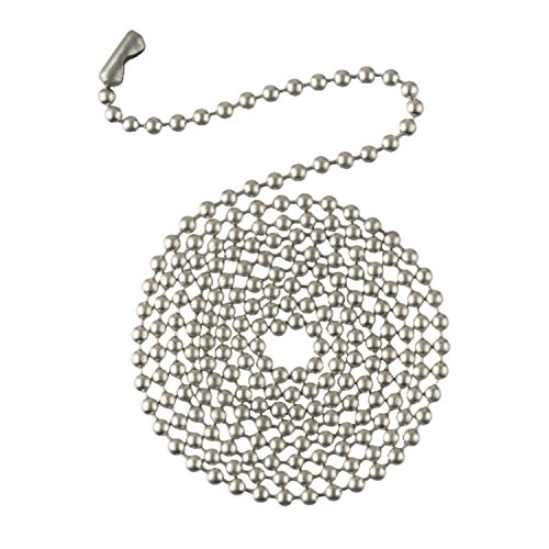 (WESTINGHOUSE LIGHTING Corp 7723800 3' Ni Beaded Chain, 0.6