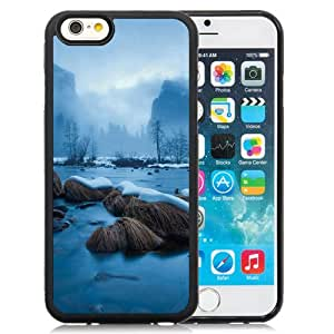 Fashionable and DIY Phone Case Design with Frozen Lake Fog Mist iPhone 6 4.7inch TPU case Wallpaper
