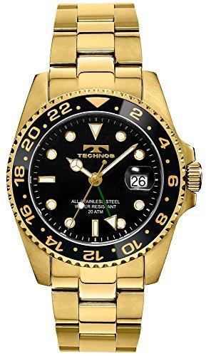 (TECHNOS GMT Watch T2134GB)