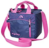 Cheap Igloo Stowe Mini City 9 Insulated Soft Cooler, Indigo, 7 Large/ 9 Cans