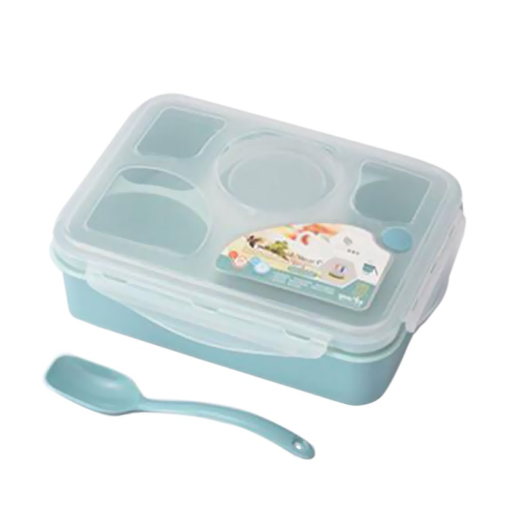 Meijunter Leakproof Freezer Microwave Safe Lunch Box with 5+1 Separated Containers Bento Box for Kids Adults Student Zhuhaixmy