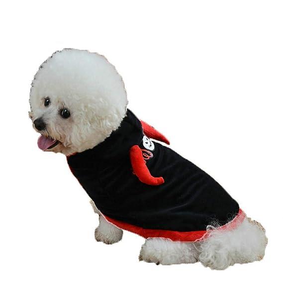 Ropa para Mascotas,Dragon868 Halloween Funny Mascotas Perros Camuflaje algodón Sudaderas con Capucha Abrigos: Amazon.es: Ropa y accesorios