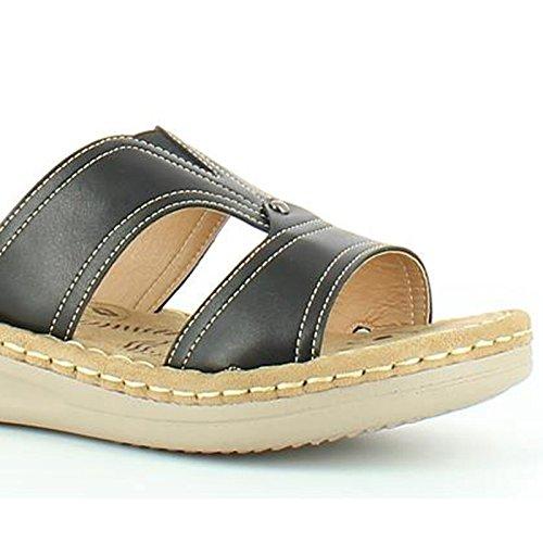 Heavenly Feet - Sandalias de vestir de Material Sintético para mujer negro