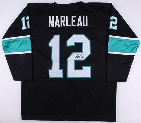 new product 7b1b4 d7c4a Patrick Marleau Autographed Signed Sharks Jersey - JSA ...