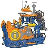 Navio Comando Do Mar Com Dois Mergulhadores, Um Submarino E Acessórios Incríveis, Imaginext, Mattel, Dfx93 Mattel Multicolorido