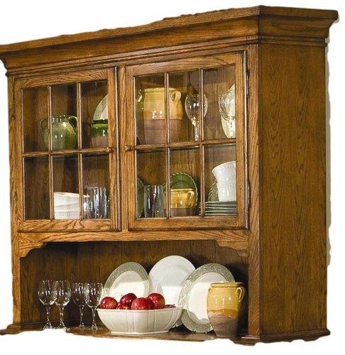 Brooks Furniture 1455H Hutch, Legacy Oak Finish