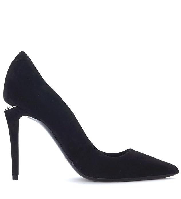Alexander Wang Decolletè  Tia in suede nera Noir - Chaussures Escarpins Femme