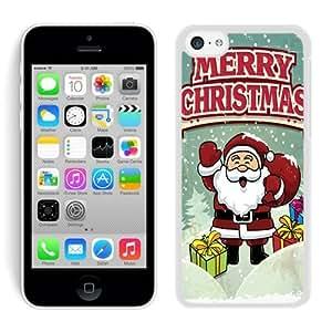 linJUN FENGDesign for Mass Customization ipod touch 5 TPU Case Cartoon Santa Claus White ipod touch 5 Case 4