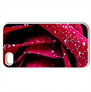 Glittering RoCase For Sumsung Galaxy S4 I9500 Cover (Flowers Series, Watercolor style, White)