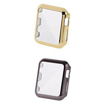 Homyl 2 Unidades Cubiertas de Plástico Reloj Inteligente Compatible con Apple IWatch Series 2: Amazon.es: Electrónica