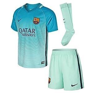 Barcelona 3rd kit little kids sizes shirt shorts socks for 7 year old boy shirt size