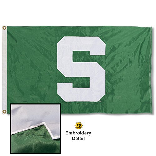 ered and Stitched Nylon Flag ()