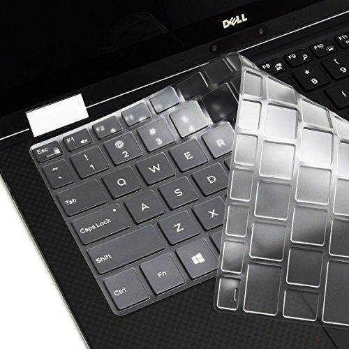 Folox® TPU Ultra Thin & Clear Keyboard Protector Cover Skin for Laptop Dell Latitude 14-5000 Series,Latitude E5440,Latitude E7440 E7240 Laptop