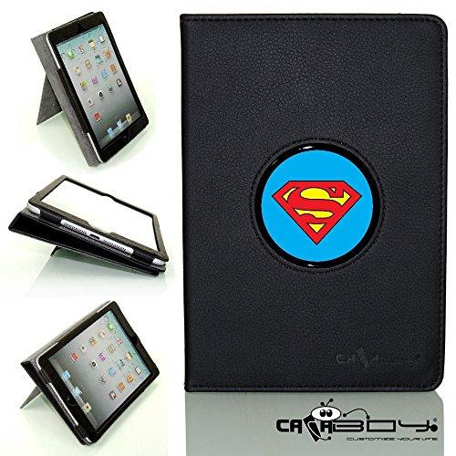 CALABOY Ipad Mini 4 SLEEP SMART black leather Case By Cal...
