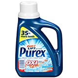 Purex Liquid Laundry Detergent Plus Oxi, Fresh Morning Burst, 43.5 oz (24 loads) (Pack of 6)