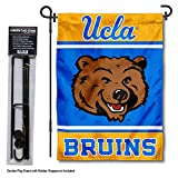 College Flags and Banners Co. UCLA Bruins Garden Flag with Stand Holder