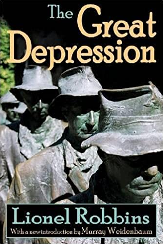 Amazon the great depression 9781412810081 lionel robbins books the great depression 1st edition fandeluxe Choice Image