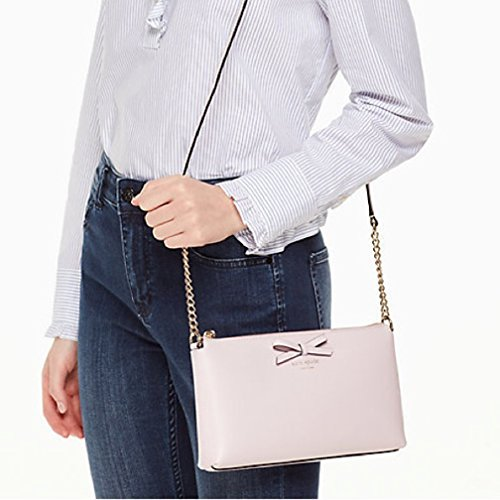 Bag Kate dawn York Leather Street Declan Spade Sawyer Plum Crossbody New Classic SS4zpq