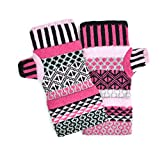Solmate Socks, Mismatched Fingerless Mittens for Men or Women, Venus