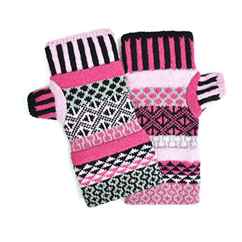 Men Women Venus - Solmate Socks, Mismatched Fingerless Mittens for Men or Women, Venus