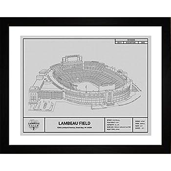 Amazon Com Old Lambeau Field Football Green Bay Packers
