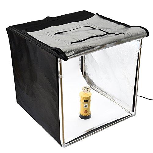 Godox LST60 Mini Photography Studio Lighting Tent, 5800K Triple LED Light Boards Studio Box for Photography Shooting (24 x 24 x24 inch) by Godox (Image #1)