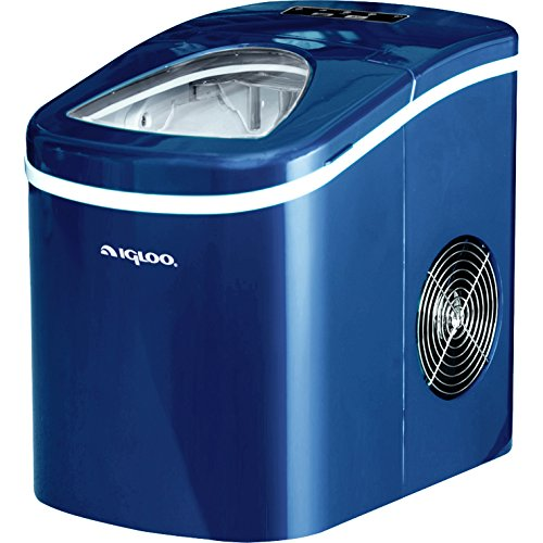 Igloo Compact Portable Ice Maker (Blue) – ICE108-Blue Capable of Producing 26 Lbs. Of Ice Per Day Review