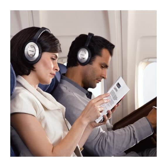 Bose QuietComfort 15 Acoustic Noise Cancelling Headphones (Discontinued by Manufacturer) 6 The best around-ear Bose headphones reduce noise across a wide range of frequencies. Connectivity Technology: Wired/Wireless Enjoy music and movies with clear and lifelike sound Comfortable, around-the-ear fit; ideal for frequent flyers
