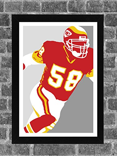 Kansas City Chiefs Derrick Thomas Portrait Sports