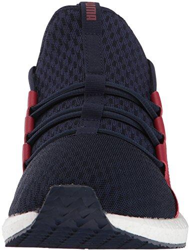 Puma Herren Schuhe / Sneaker Trinomic Blaze Of Glory Sock Core Peacoat Red Dahlia