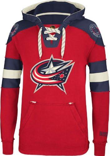 NHL Columbus Blue Jackets CCM Pullover Hooded Houston trend rank Mall Men's