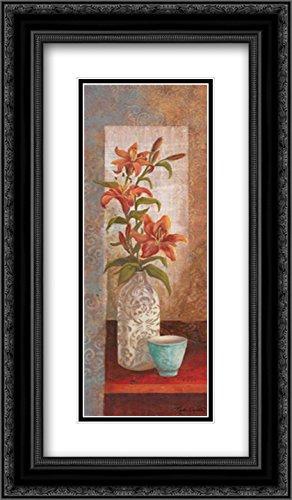 (Spiced Jewels I 2x Matted 14x24 Black Ornate Framed Art Print by Wacaster, Linda)
