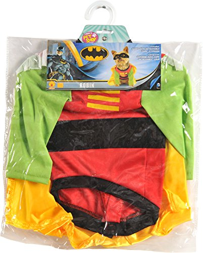 Pet Robin Costumes (DC Comics Teen Titans Pet Costume, Small, Robin)