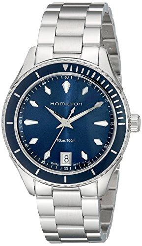 Hamilton Women's H37451141 Seaview Analog Display Quartz Silver Watch