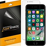 [6-Pack] Supershieldz for Apple iPhone 8 Plus / iPhone 7 Plus Screen Protector, Anti-Bubble High Definition Clear Shield + Lifetime Replacements Warranty- Retail Packaging
