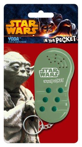 Underground Toys Star Wars In Your Pocket Talking Keychain - Yoda