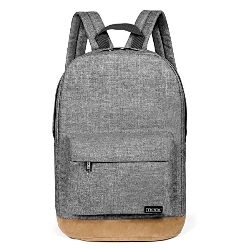 ab5e9e30af9b Frestree Polyester Laptop Black Backpacks 14 Inches Unisex Classic Rucksack  for Boys Girls Teens