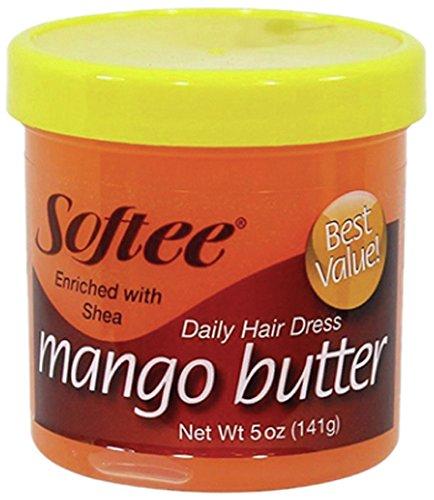 Softee Mango Butter Daily Hair Dress, 3.5 Ounce
