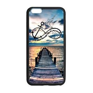 WXSTAR Fashion infinity infinity Custom Case for iPhone6 Plus 5.5