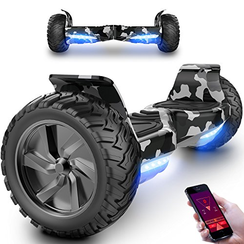 Hoverboard,with Bluetooth,LED and APP SUV 8.5 inch Off-Road...