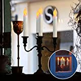 Raycare 12PCS LED Flameless Taper Candle