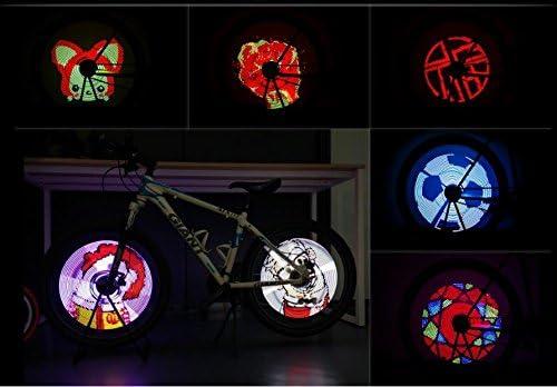 Bike Wheel Light Spoke Lights Colorful Wheel Lights Support APP DIY Wonderful Light