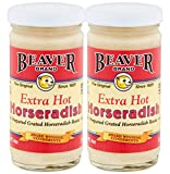 Beaver Horseradish Extra Hot 4oz (Pack of 2)
