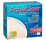 AquaClear 50 Foam Filter Inserts, Aquarium Filter