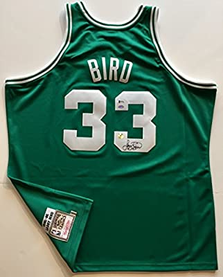 cheaper 40467 d6553 Larry Bird Signed Celtics Jersey. Mitchell & Ness AUTHENTIC ...