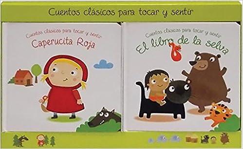 Cuentos clasicos toca y siente 2-pack 2: Amazon.es: Libros