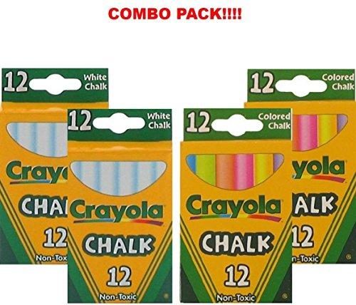 🥇 Crayola Non-Toxic White Chalk