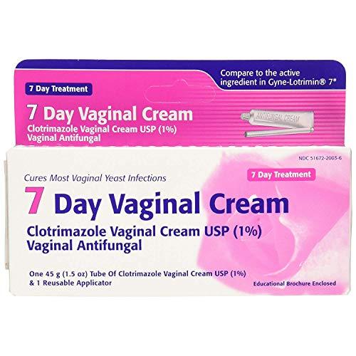 Taro Clotrimazole 7 Vaginal Cream 45 g (Pack of 4)