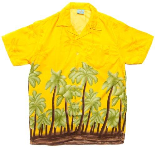 ragstock-mens-tropical-hawaiian-large-palm-tree-print-aloha-shirt-yellow-x-large